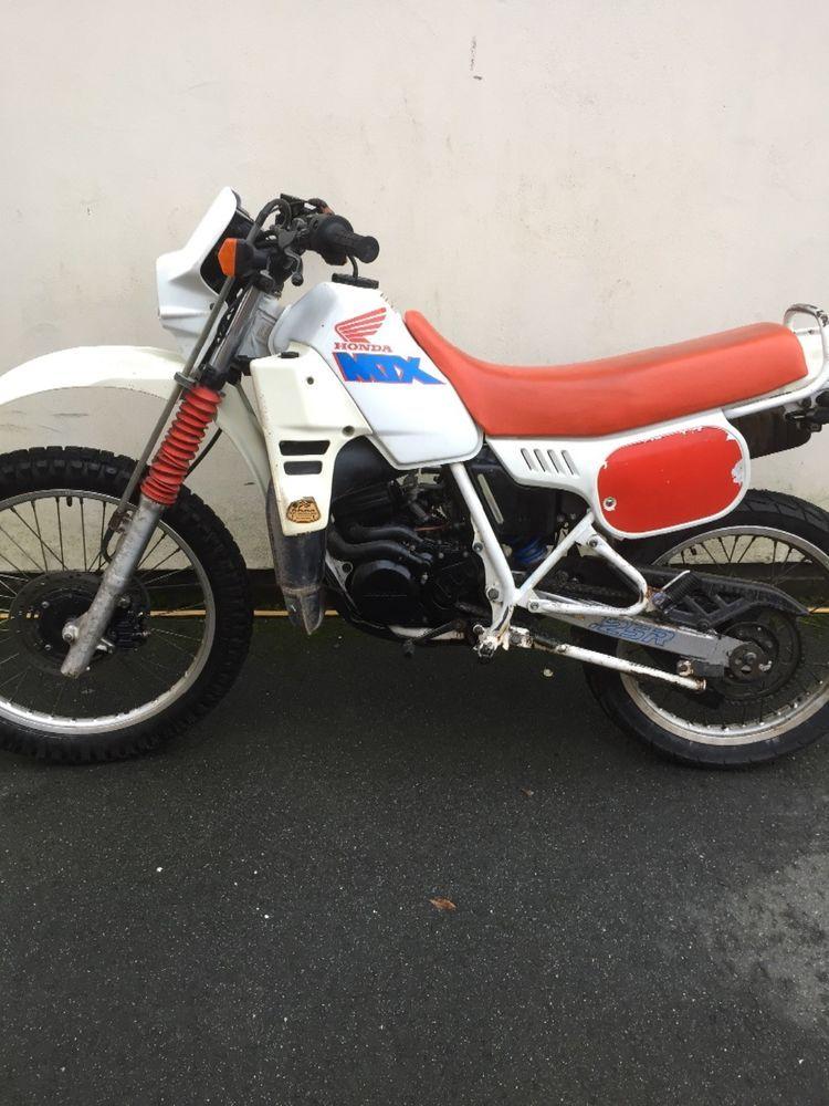 Ebay Honda Mtx 125 Rw L Motorcycle White 1992 Motorcycle Honda Ebay