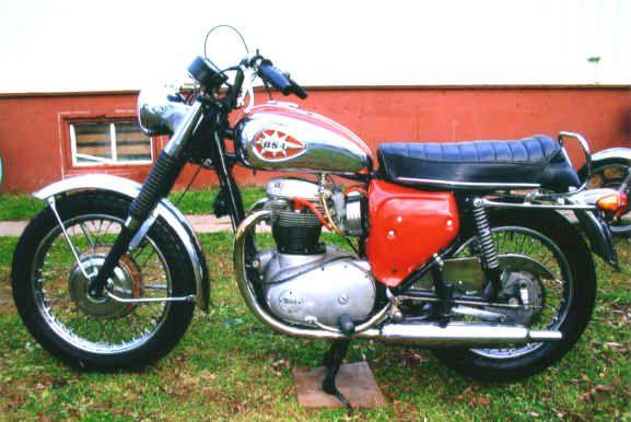 1968 BSA Thunderbolt 650