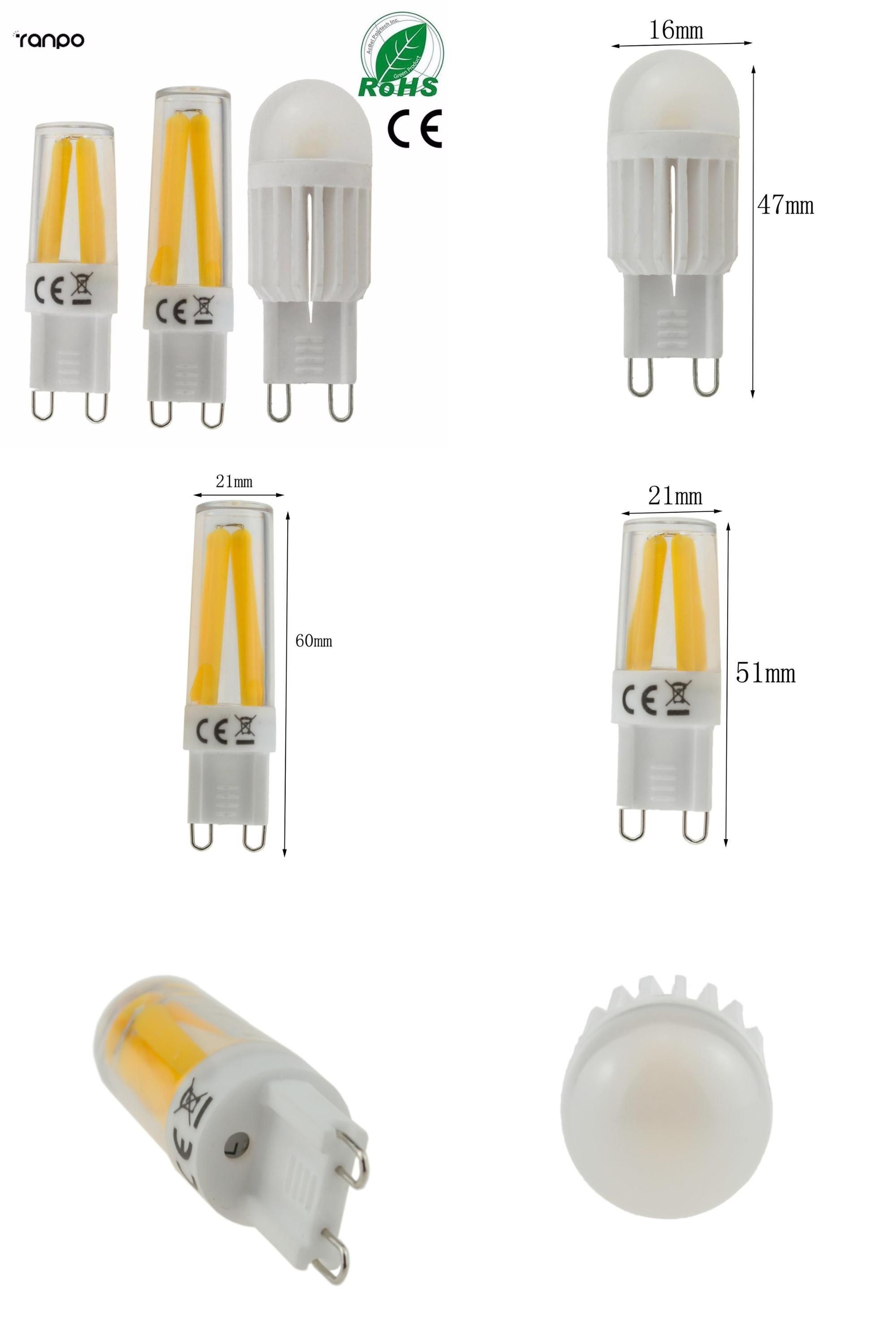 Visit To Buy Dimmable Led G9 4w 6w 9w Lamp Bulb 110v 220v Cob Smd Led Lighting Lights Replace Halogen Spotlight Chandelier Dimmable Led Lamp Bulb Led Lights