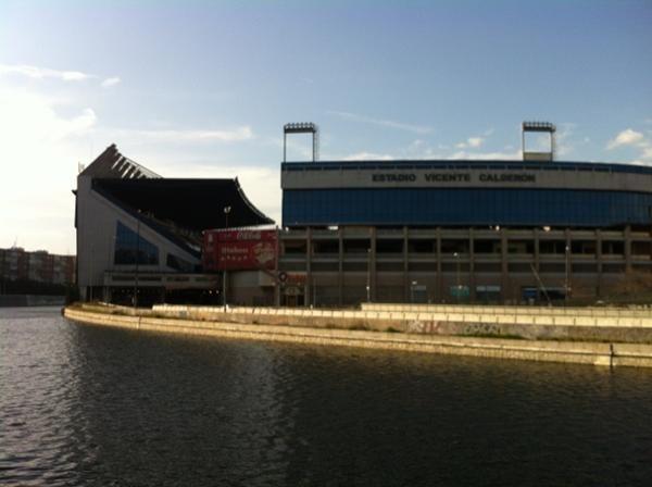 Estadio Vicente Calderón desde #MadridRío