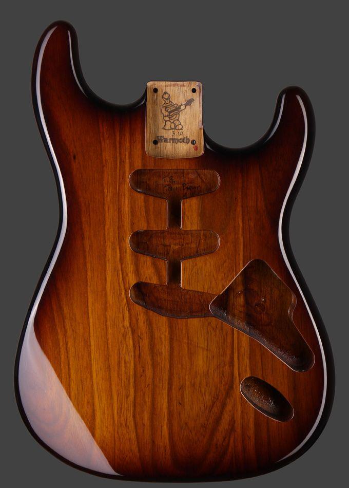 Warmoth Custom Guitar Parts - In Stock Showcase Body