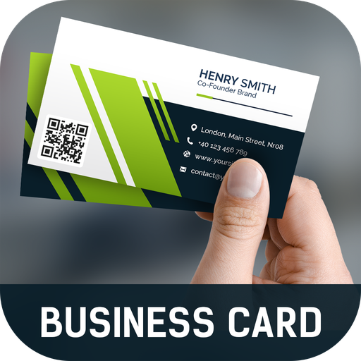 App Of The Day Business Card Maker Create Business Cards Visiting Card Maker