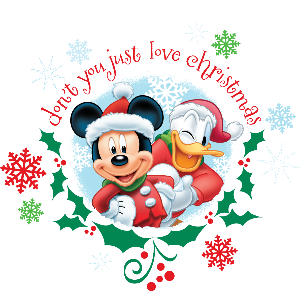 Disney Quotes For Christmas Cards: Countdown To Christmas! ~Mickey #Donald