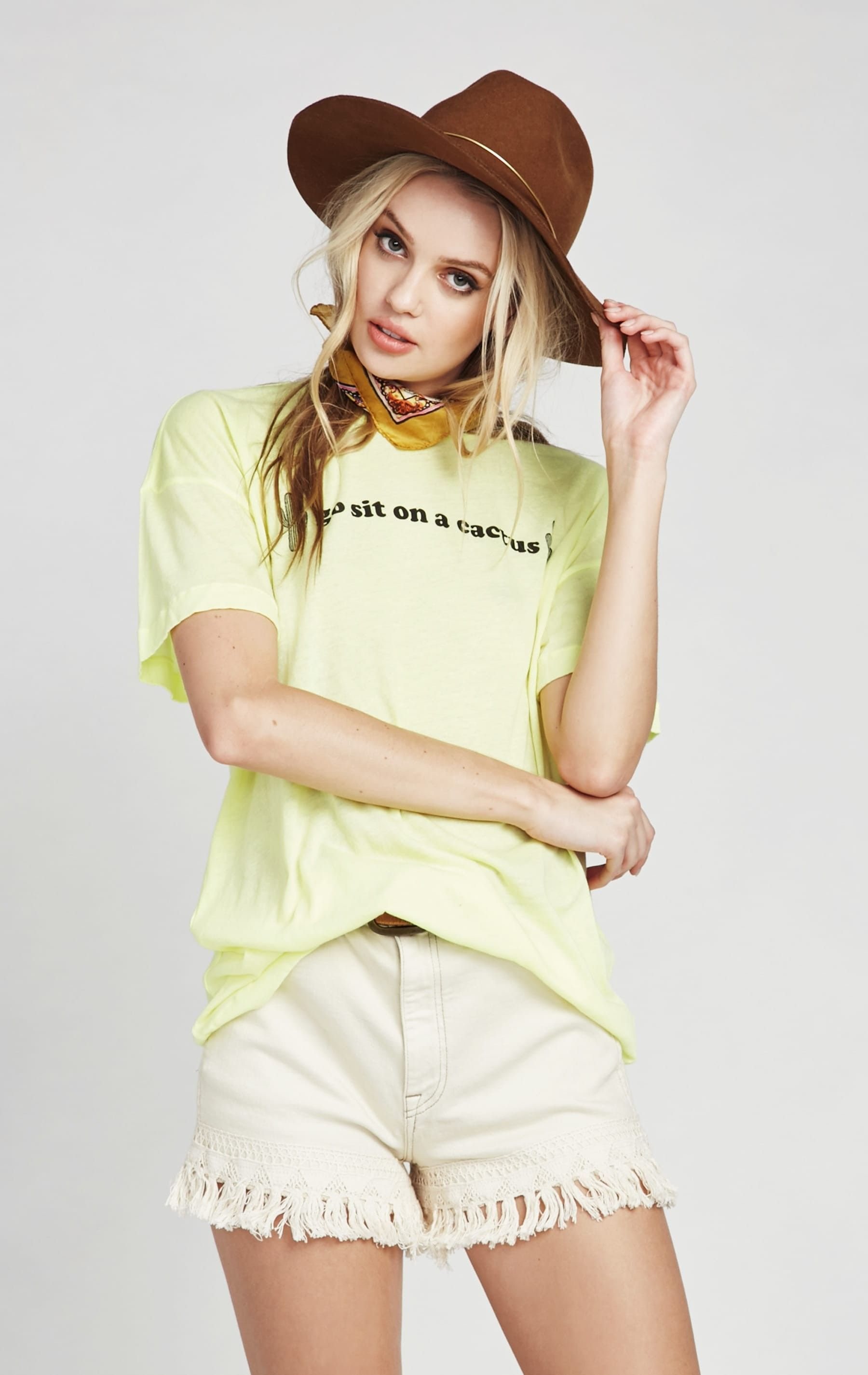 Cactus T Shirt & Relaxed Fit Shirts | Wildfox