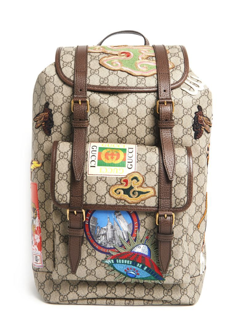 5cab1c5d5323 Best price on the market at italist.com Gucci Multicolor BACKPACKS ...
