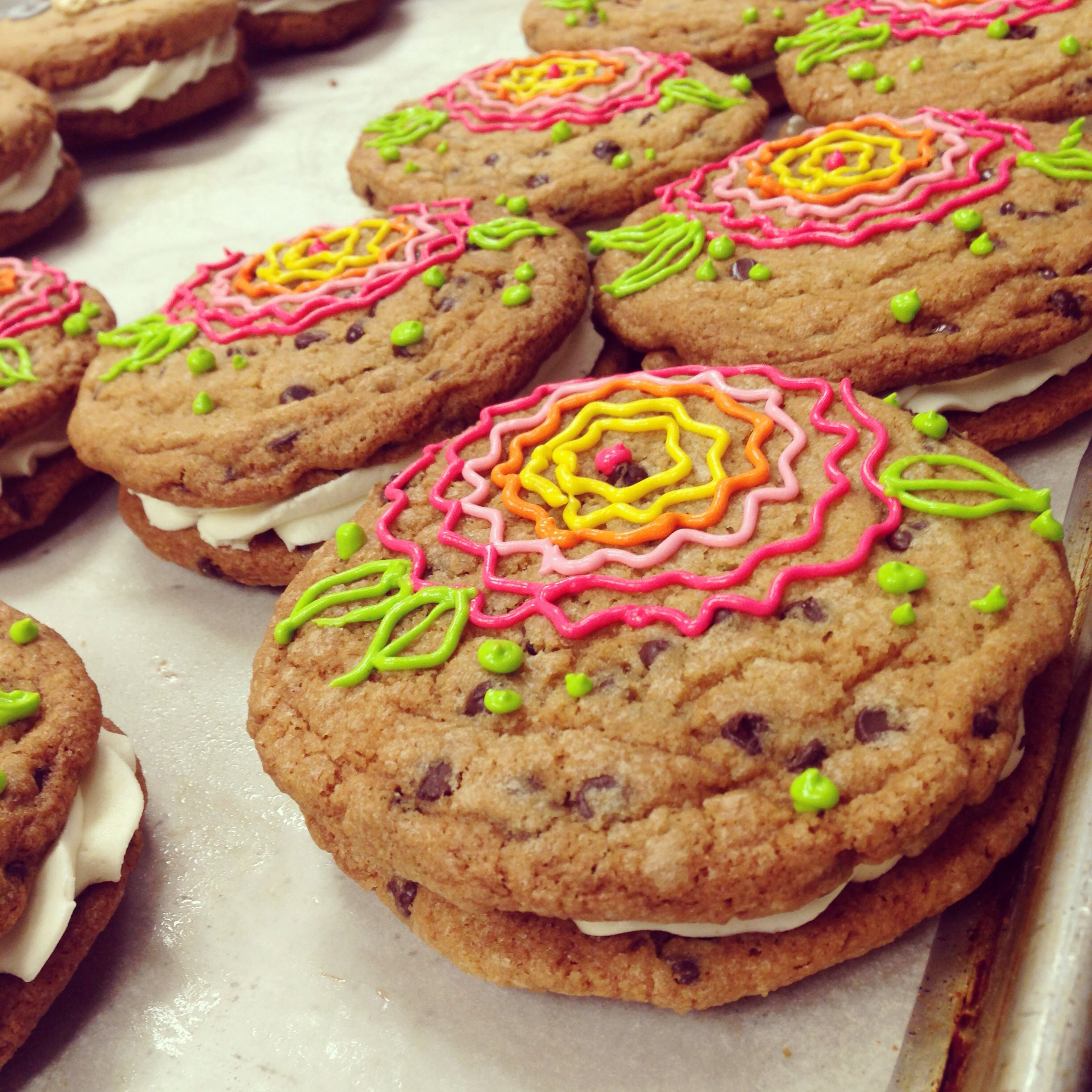 Chocolate Chip Cookie Sammie's By HayleyCakes And Cookies