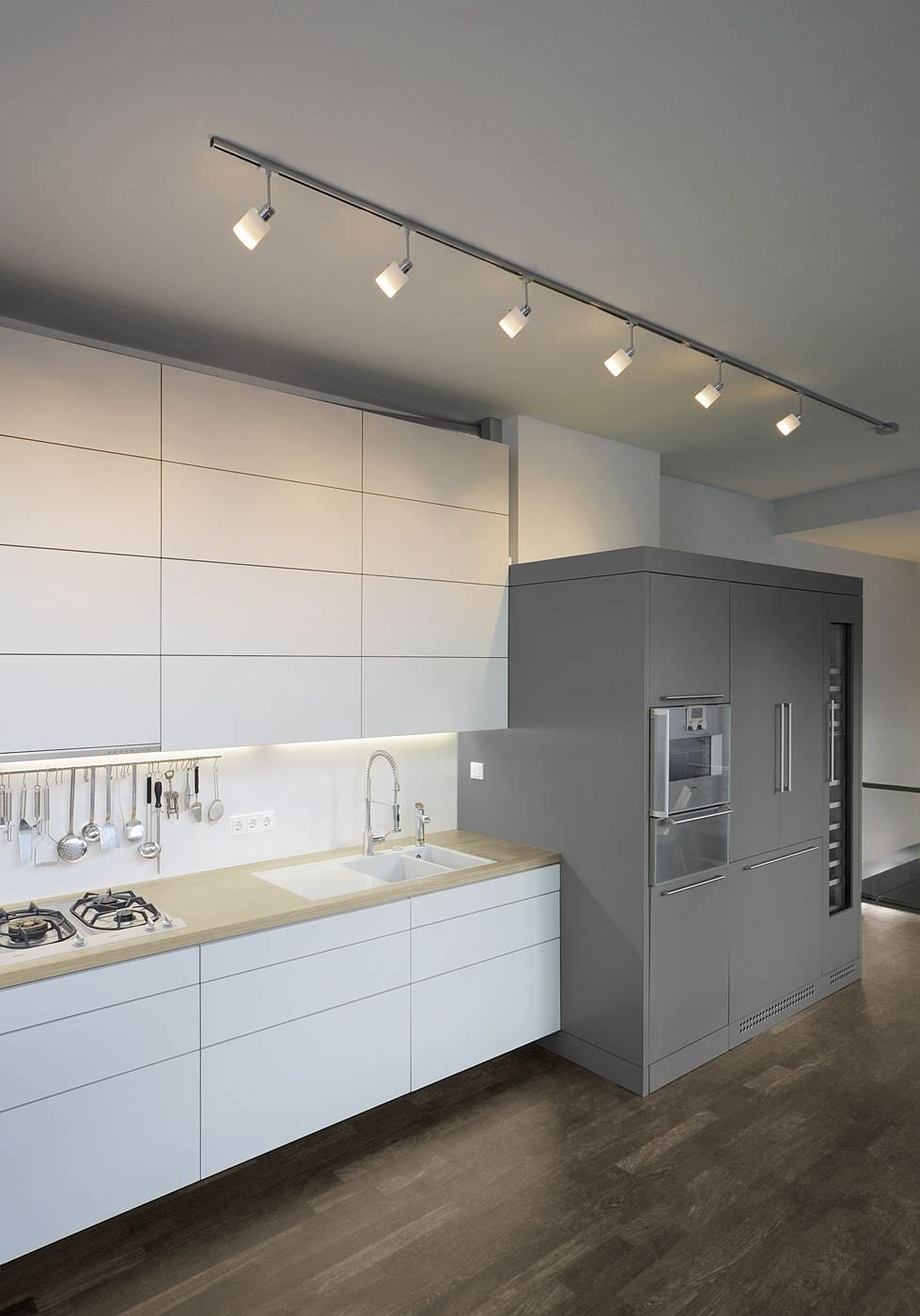 Rail Declairage Cerca Con Google Luminaire Lighting Kitchen Wiring Lights In Attic Spotlights Ceiling Track