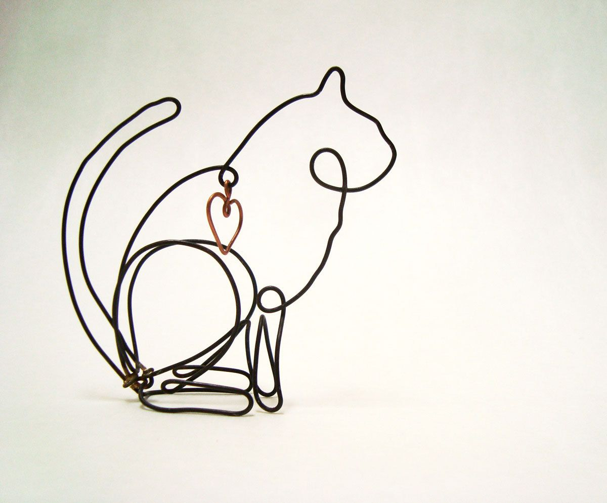 simple wire sculpture simple wire sculpture wire art