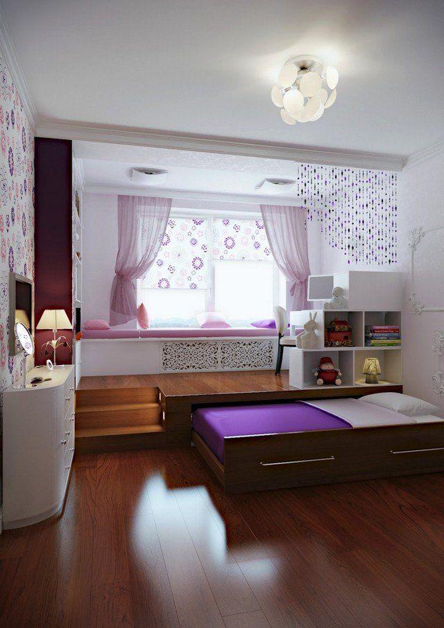 Comment aménager une petite chambre à coucher 29 idées Princess - Amenager Une Chambre D Enfant