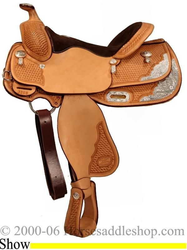 14 1/2 Inch Billy Cook Youth Show Saddle   Billy Cook Saddles One
