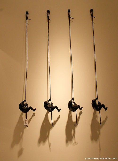 DIY Creative Wall Art 5 | Interior Design | Pinterest | Creative ...