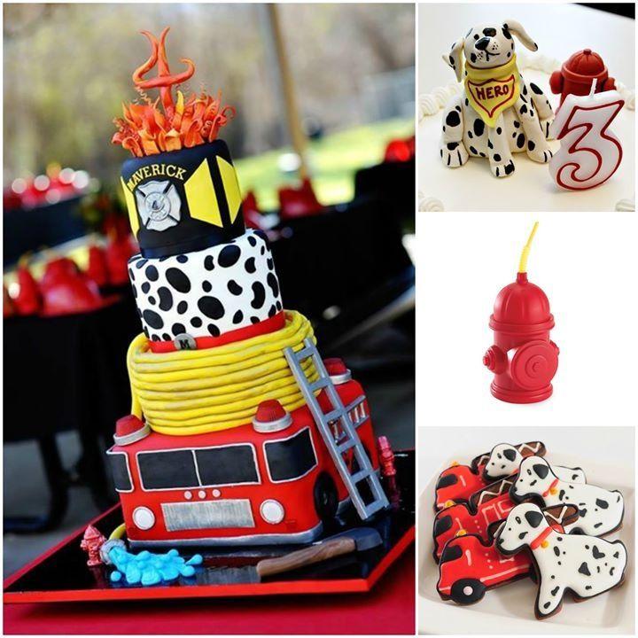 Fireman cake fireman party pinterest kuchen und - Billige weihnachtsdeko ...
