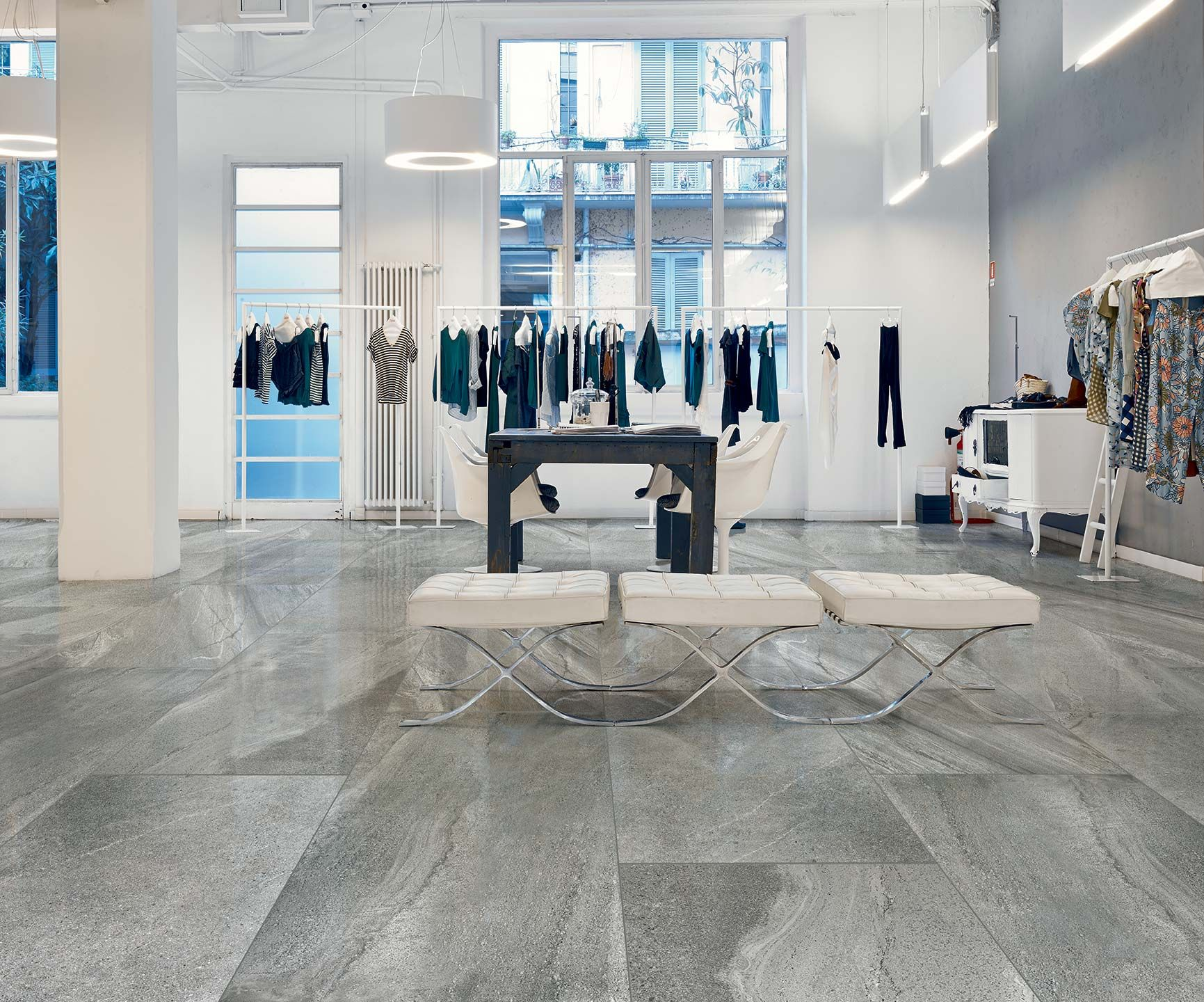 Luxury porcelain tile surface tiles luxury porcelain tiles in metal - Fiorano Italian Stones Quartz Grey Porcelain Tile Http Www Ceramictechnics Laying Tilegrey Tilesstone