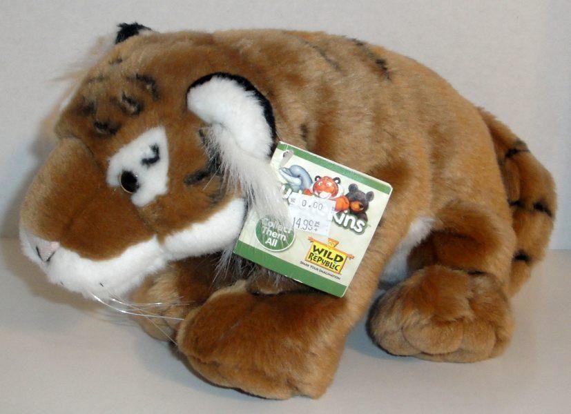 New Wild Republic Bengal Tiger 12 Plush Doll Toy Cuddlekins