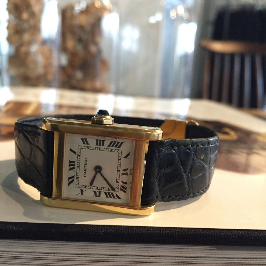 wholesale dealer 836c5 701e8 カルティエタンクノーマルLM   Watches【2019】   カルティエ ...
