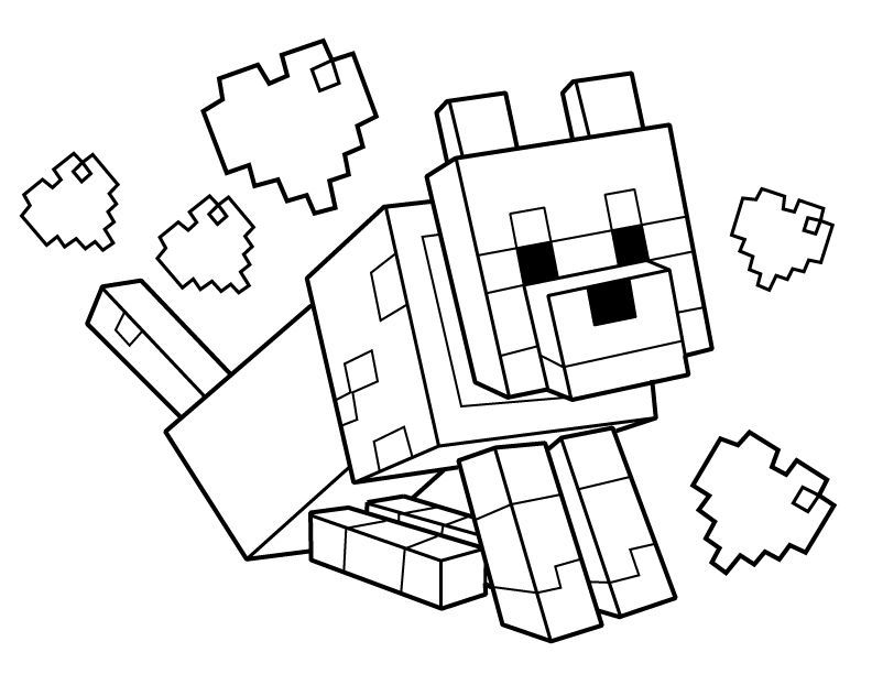Minecraft Coloring Minecraft Coloring Pages Coloring Pages Printable Coloring Pages