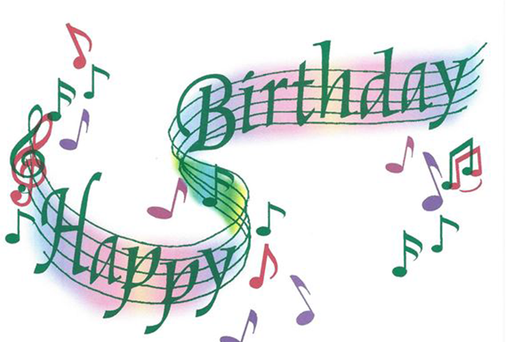 Image Result For Image Of Happy Birthday With Music And Beach