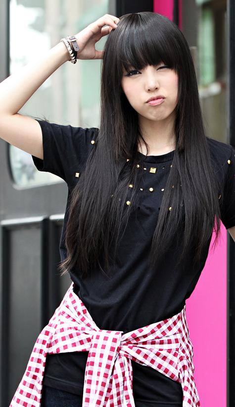 Bangs Hairstyle Asian