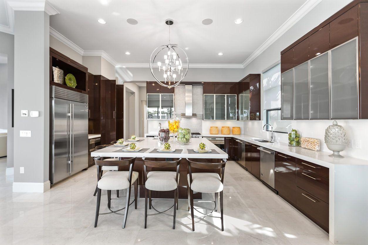9 Modern Kitchen Design Ideas Photos   Kitchen designs layout ...