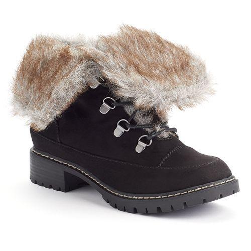 47990b13655e Dana Buchman Women s Mid-Shaft Lace-Up Boots