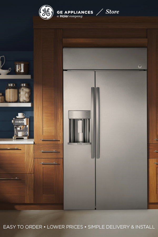The Ge Appliances Store Provides High Quality And Stylish Products An Easy Ordering Process Simple Deliver Glass Shelves Built In Refrigerators Ge Appliances