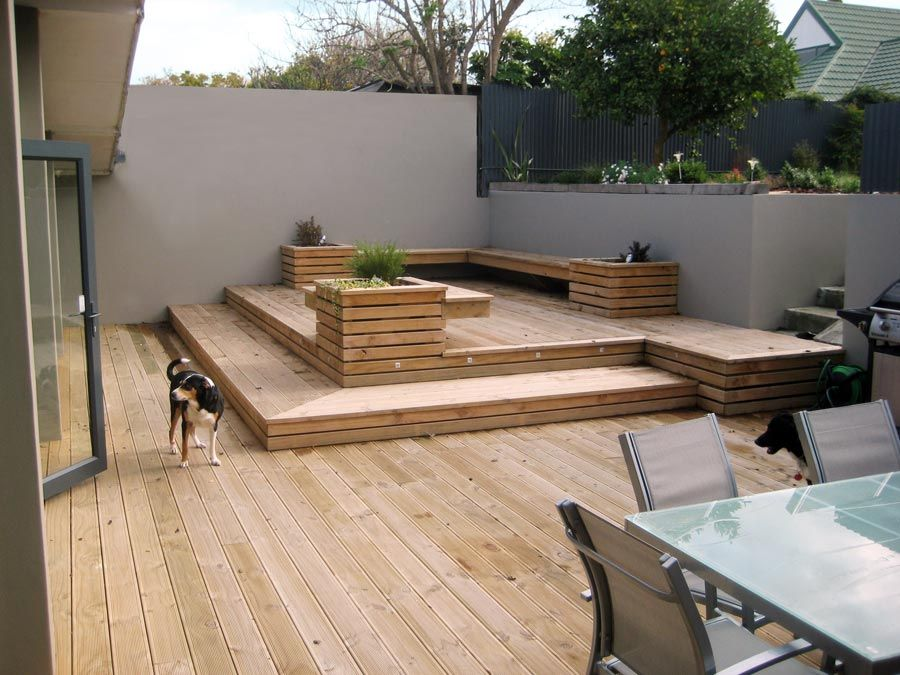 17+ Wonderful Garden Decking Ideas With Best Decking Designs