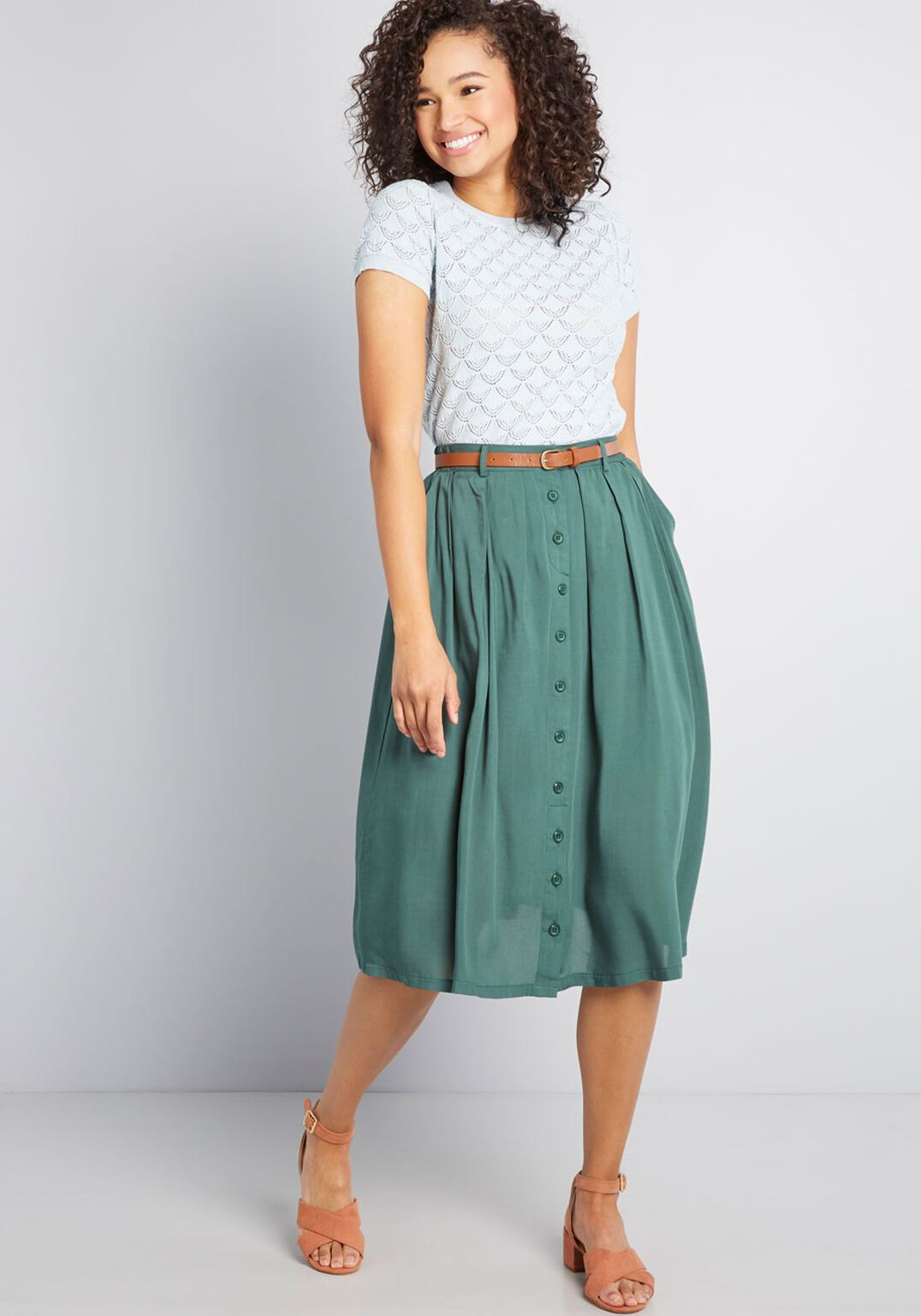 2fce70f70 Bookstore's Best Midi Skirt in 2019 | // SHOP | Midi skirt, Skirts ...