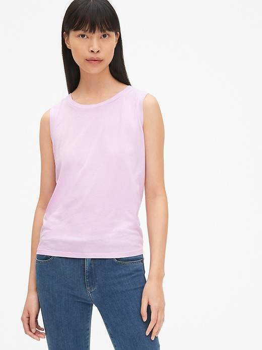 701784a1c56 Gap Vintage Tie-Back Tank Top | Products in 2019 | Tank tops, Tops ...