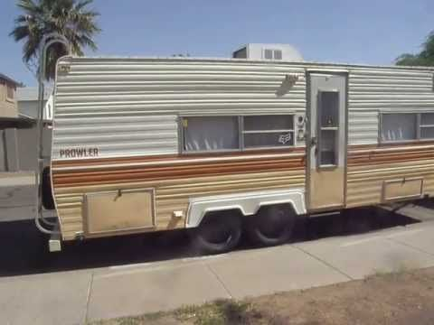 My 1978 Prowler Travel Trailer Short Tour Youtube
