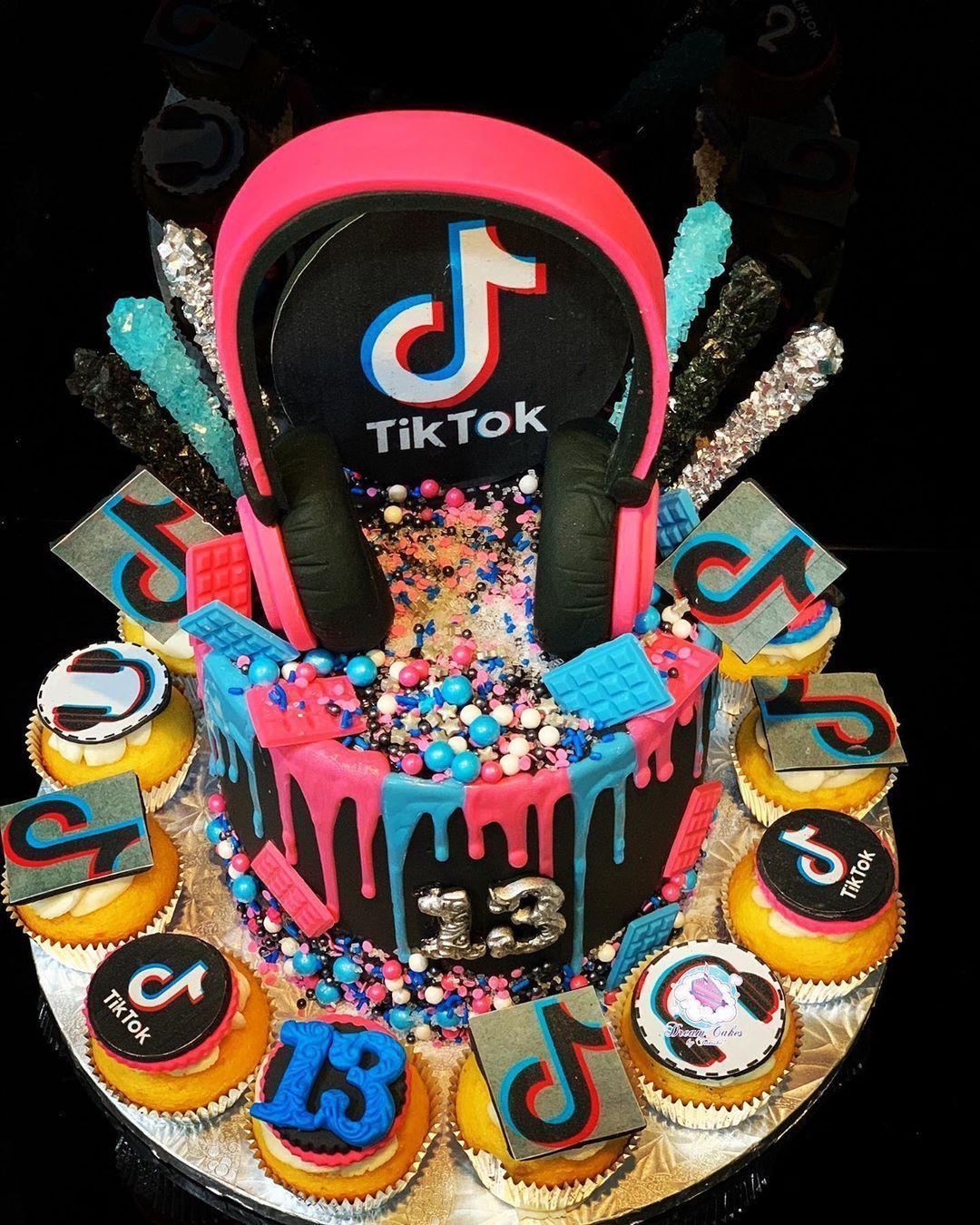 Pastel tik tok cute birthday cakes unicorn birthday