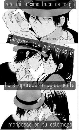 Frases Anime Frases Pinterest Frases Animo Magia Y Me Gustas