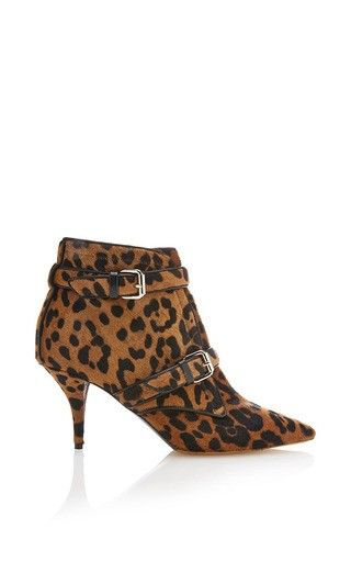 0f39abcb8445a Fitz bootie in leopard hair calf by TABITHA SIMMONS Available Now on Moda  Operandi