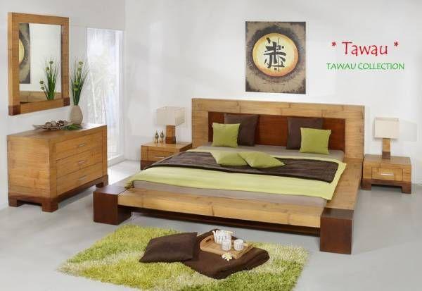 Bambus Bettrahmen Tawau Bett Himmelbetten Bambusbett