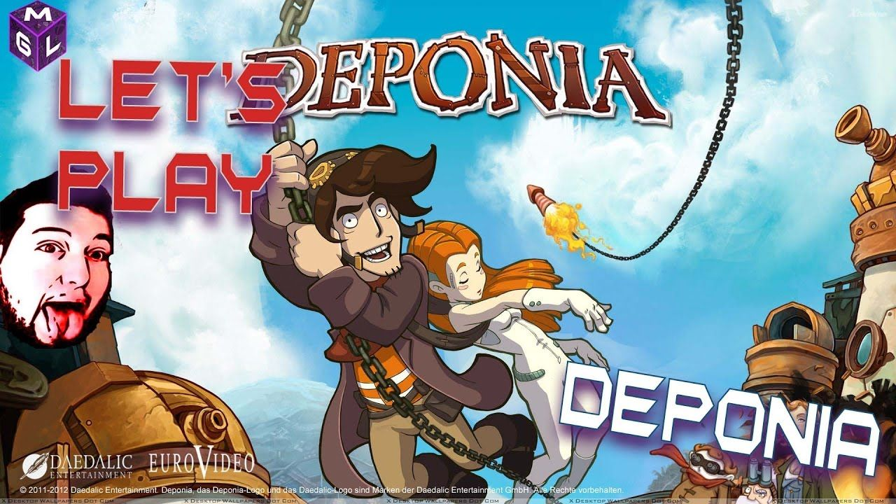 WATCH Let's Play Deponia A Comical Hand Drawn PointAnd