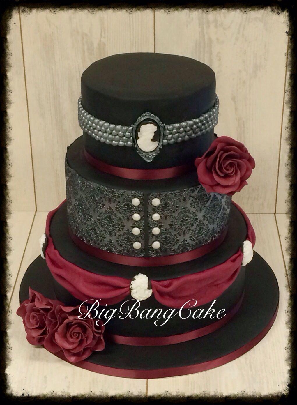 Gothic Weding Cake