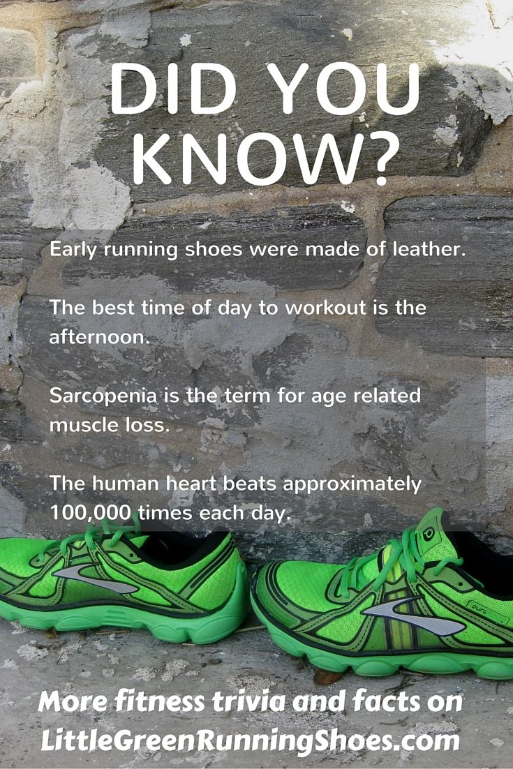 Did You Know Fitness Pinterest Trivia