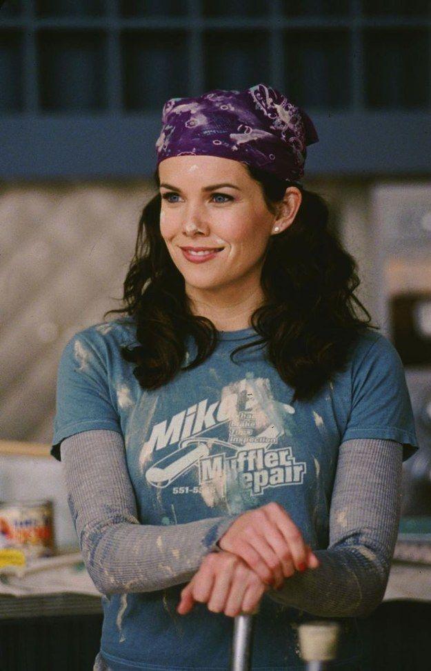 Lorelai Gilmore in Gilmore Girls