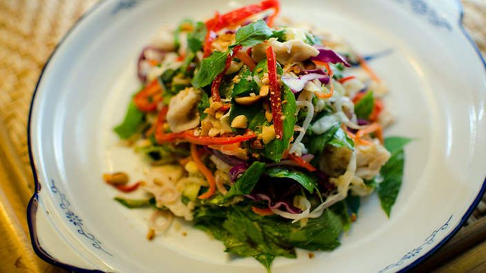 khmer fish salad