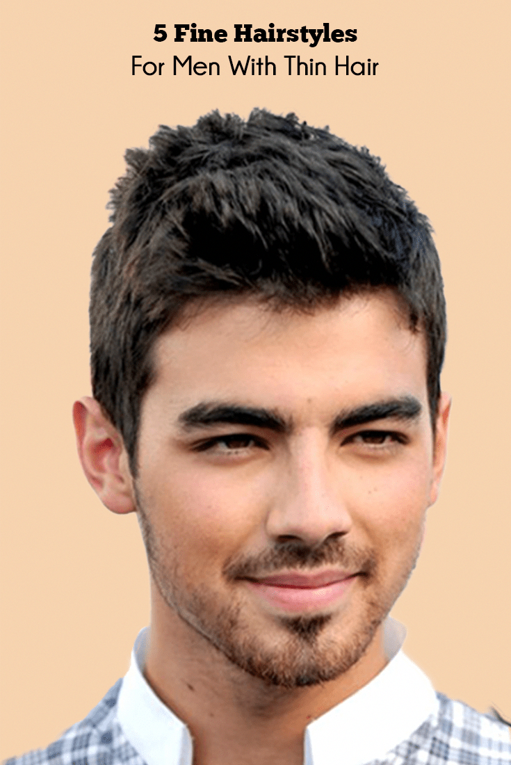 Pictures for fine hairstyles for men with thin hair dapperhaircuts