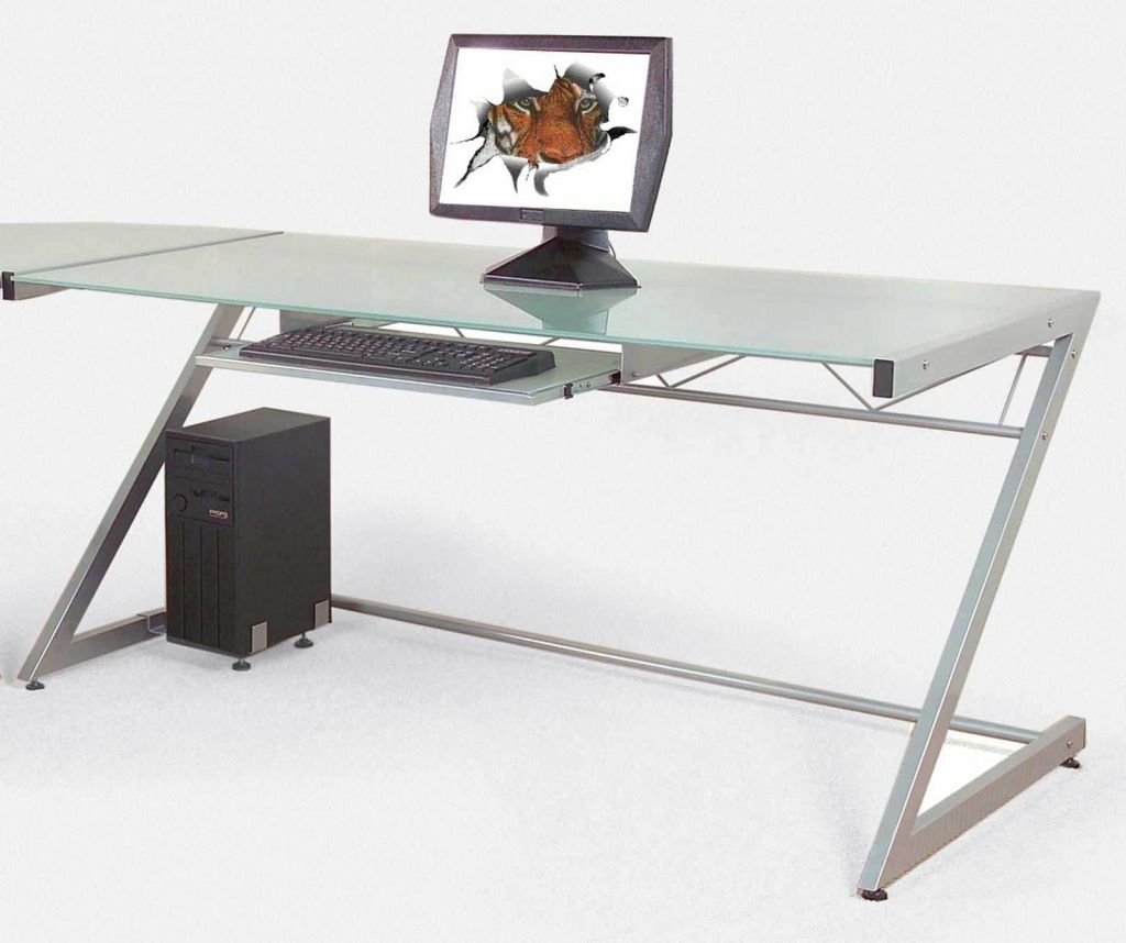 Contemporary Glass Office Desk - Luxury Home Office Furniture Check ...