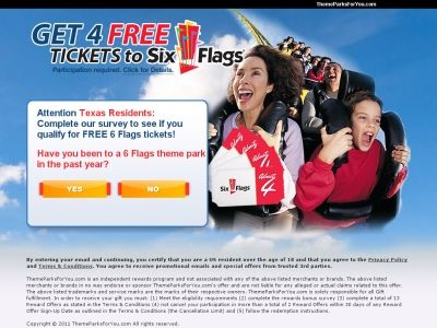 Get 4 Free Tickets To Six Flags How To Claim Free Tickets To Six Flags Http Freestuffhappy Com Get 4 Free Tickets To Six Fl Free Ticket Six Flags Year Six