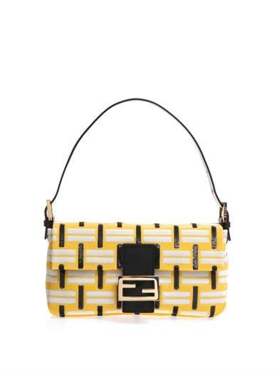 96285403f3 Graphic-weave Baguette shoulder bag