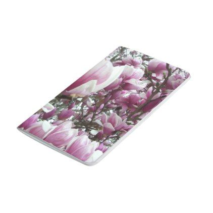 Pocket Journal Saucer Magnolia Spring Gifts Beautiful Diy Spring Time New Year Spring Gifts Spring Diy Flower Gift
