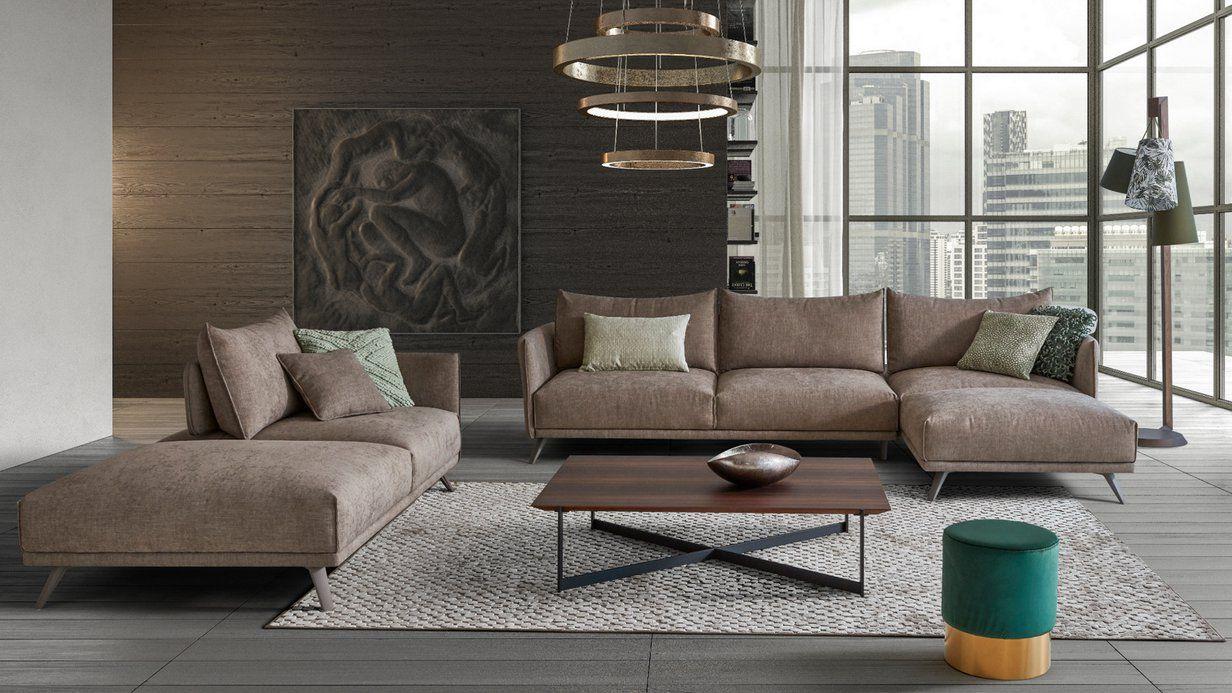 Canape Popup Un Salon Xxl De Caractere Pour Creer Un Espace Design Et Confortable Canape Design Meuble Design Canape Angle Gris