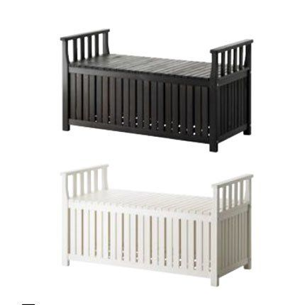 banc coffre angs ikea outdoor pinterest banc coffre entr e et bancs. Black Bedroom Furniture Sets. Home Design Ideas