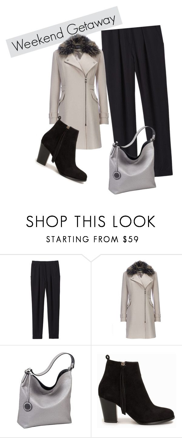 """""""Weekend Getaway"""" by cvgf on Polyvore featuring Rebecca Taylor, Wallis, Sydney Love and Nly Shoes"""