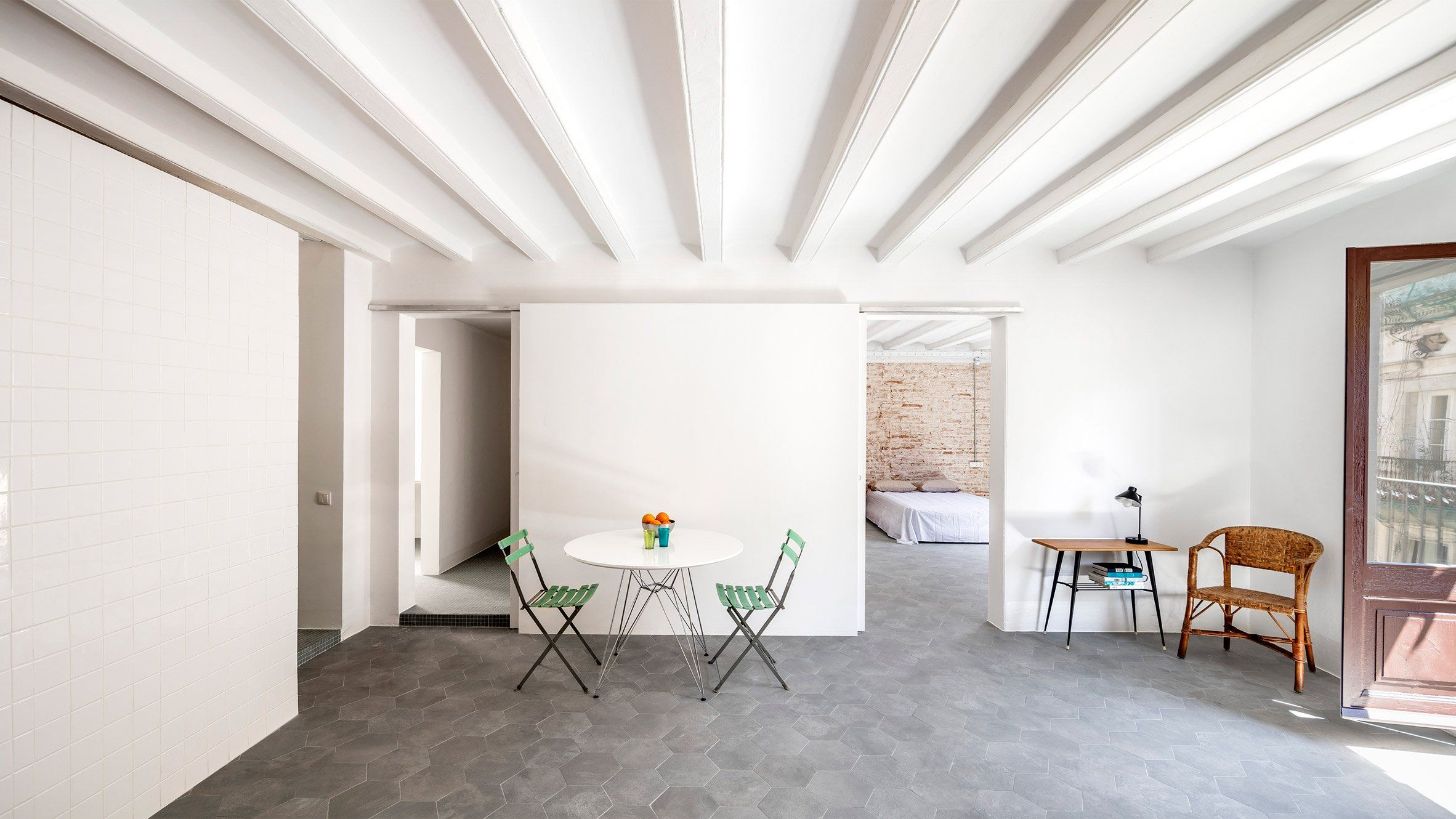 The original studio interior: design features, photos of interesting ideas and recommendations 44