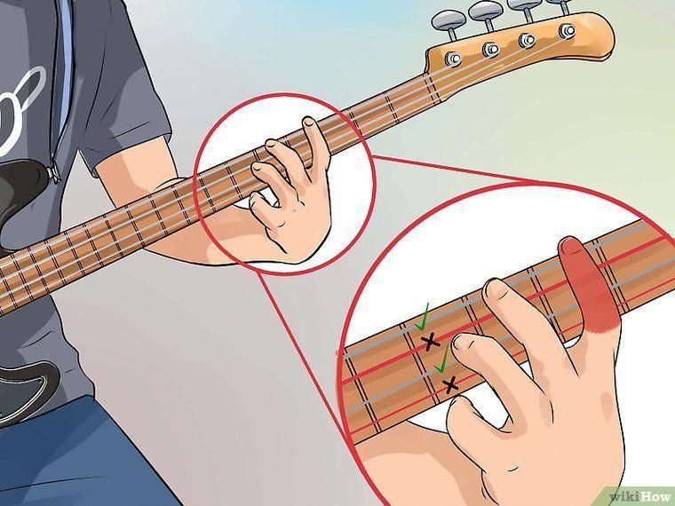 3 ways to teach yourself to play bass guitar wikihow