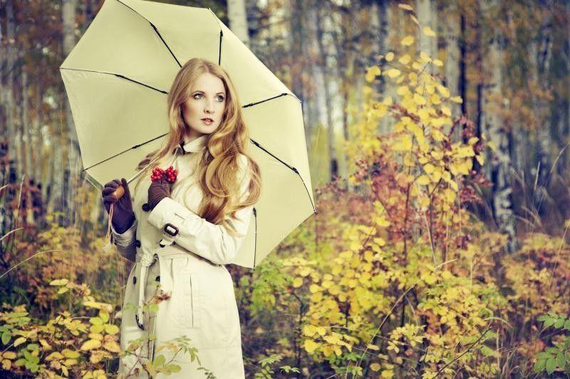 Осенние фото девушки в лесу (41 картинка) | Осенние фото ...
