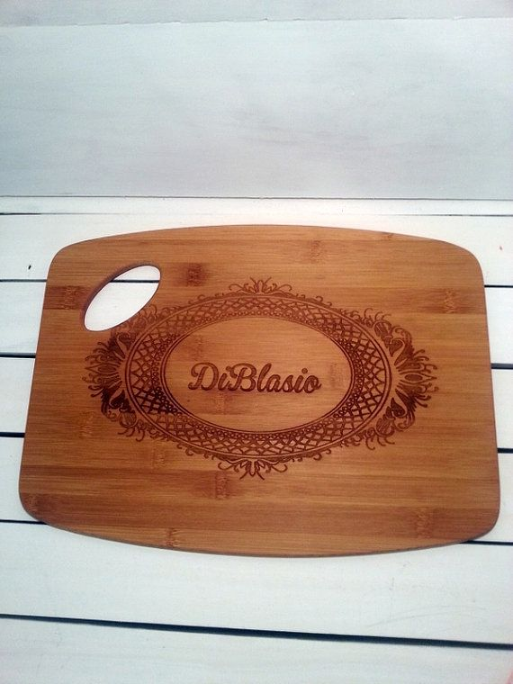 Cutting Board Personalized Cutting Board by WildFireFlies on Etsy